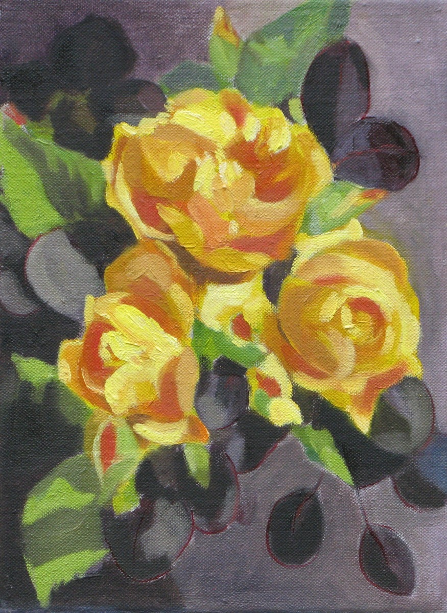Yellow Roses (large view)