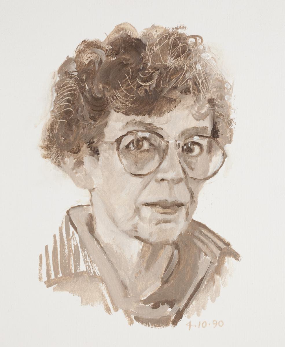 Five Self-Portraits #2 (large view)