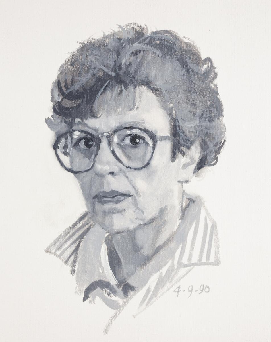 Five Self-Portraits # 1 (large view)