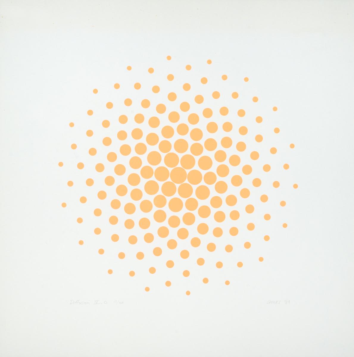 Diffusion IV, Orange (large view)