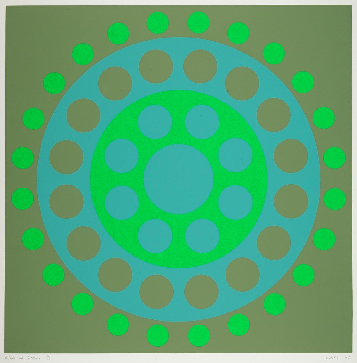 Wheel II, Green. (large view)