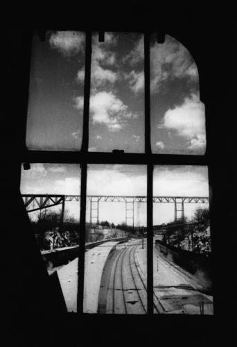 Poughkeepsie Train Station Window,  Poughkeepsie NY