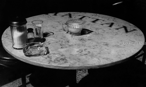 Manhattan Bistro Table, Soho N.Y.C.