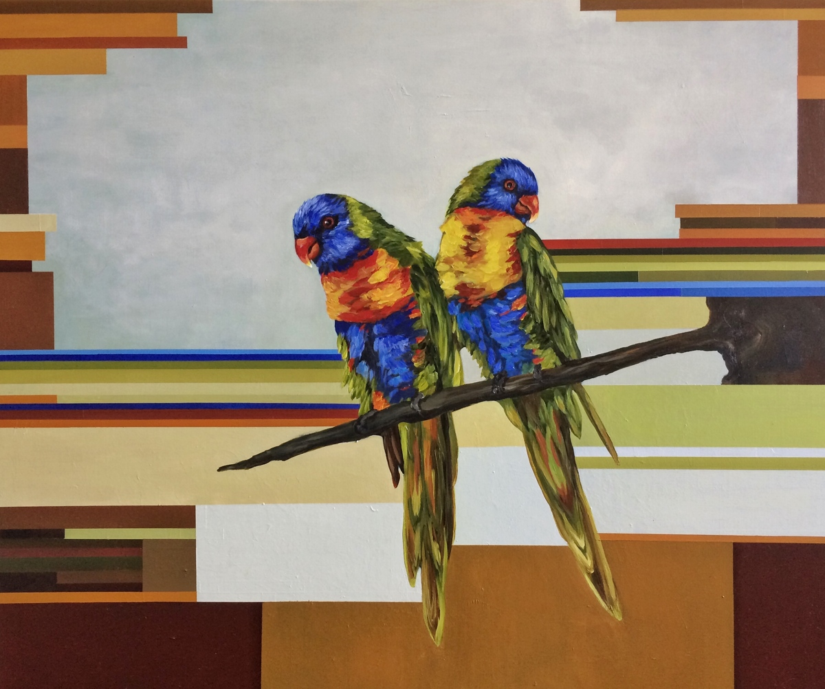 RainbowLorikeets (large view)
