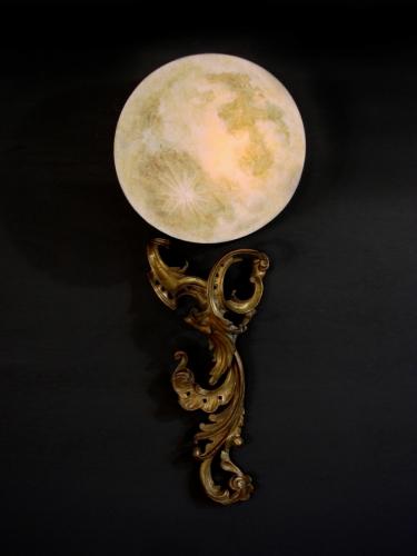 PAIR- La Luna Wall Lamps