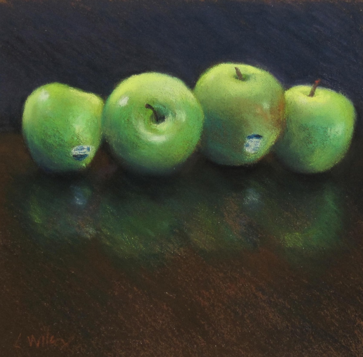 FOUR APPLES (large view)