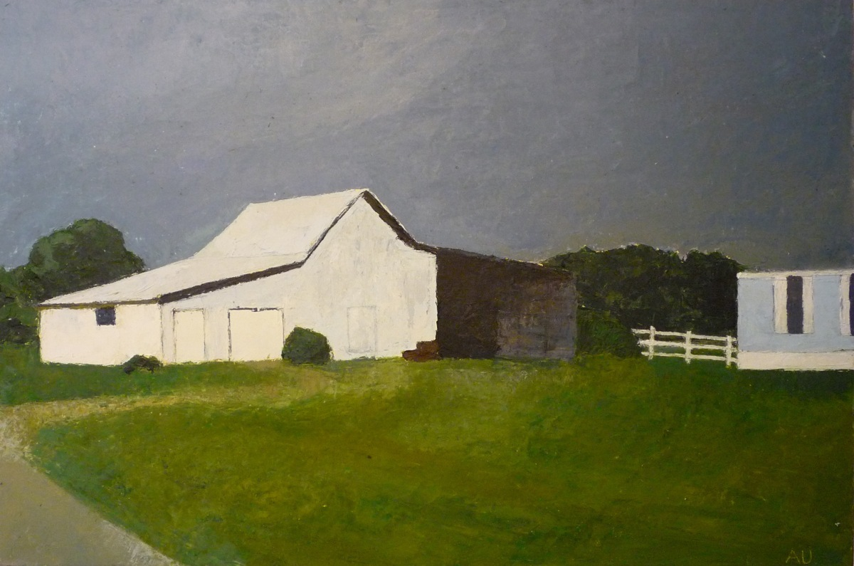 White barn, 2012 (large view)