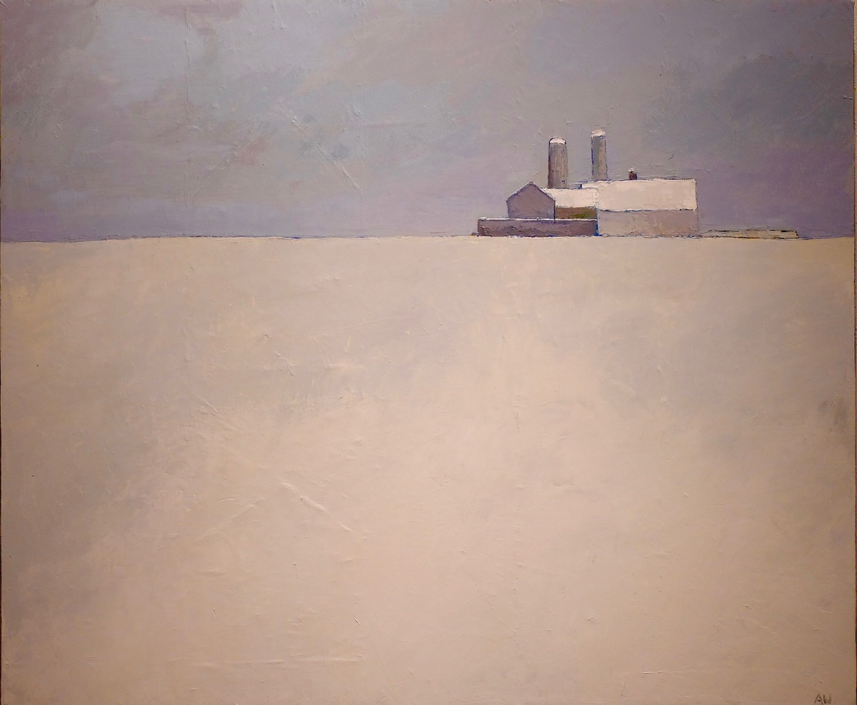 The VCCA in winter, barns #4, 2016 (large view)