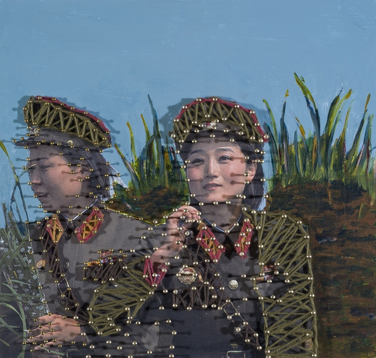 Women and War, China (large view)