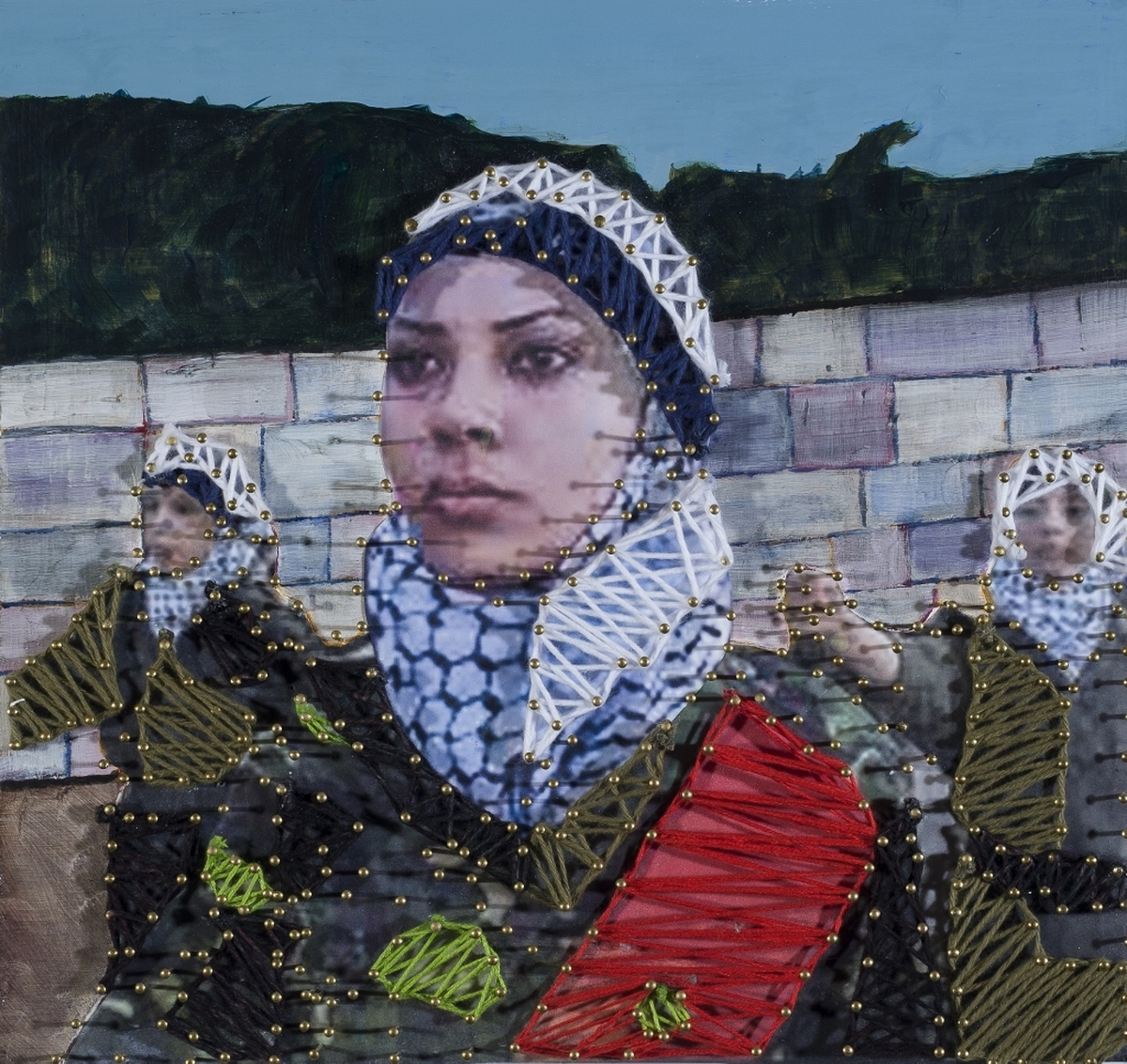 Women and War, Palestine (large view)