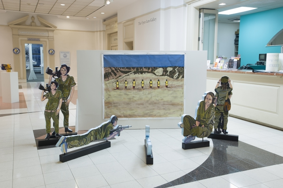 Soldiers at the Shooting Range (large view)