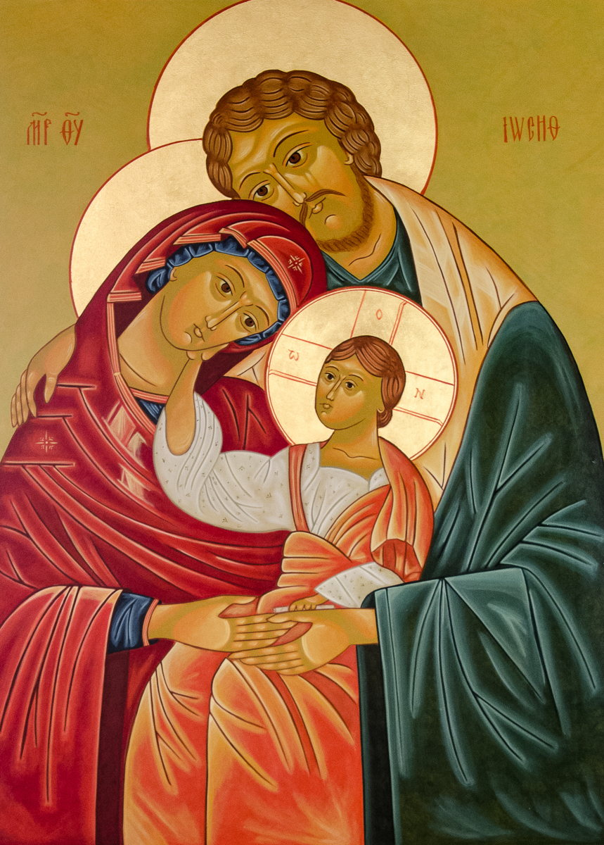 The Holy Family (large view)