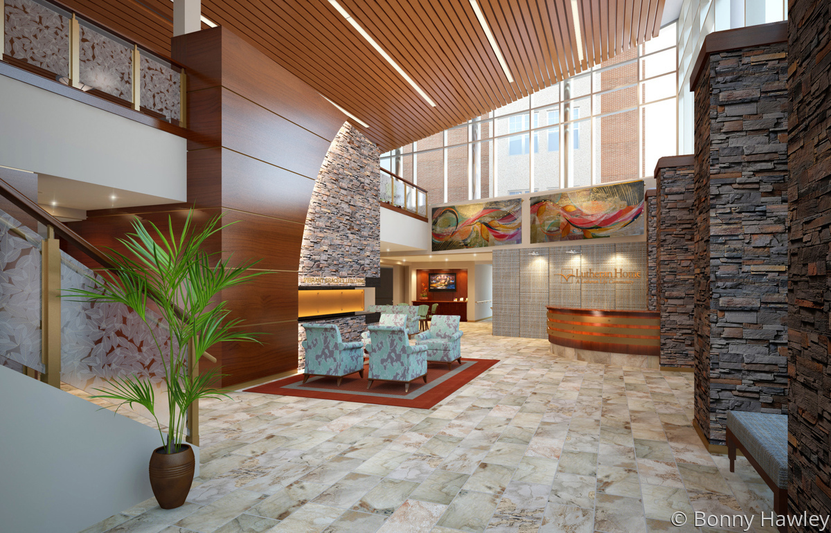 Luthern Home Lobby (large view)