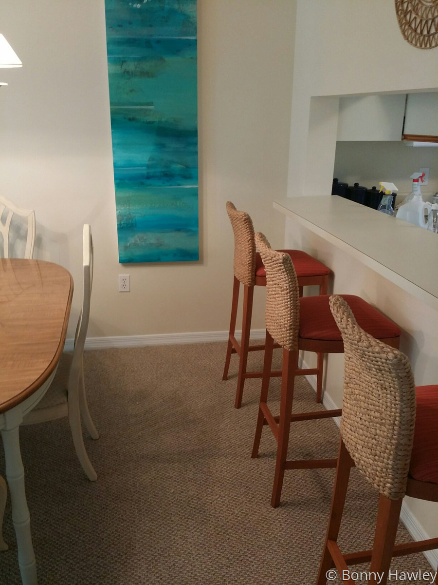 Installation in Naples Fl. condo (large view)