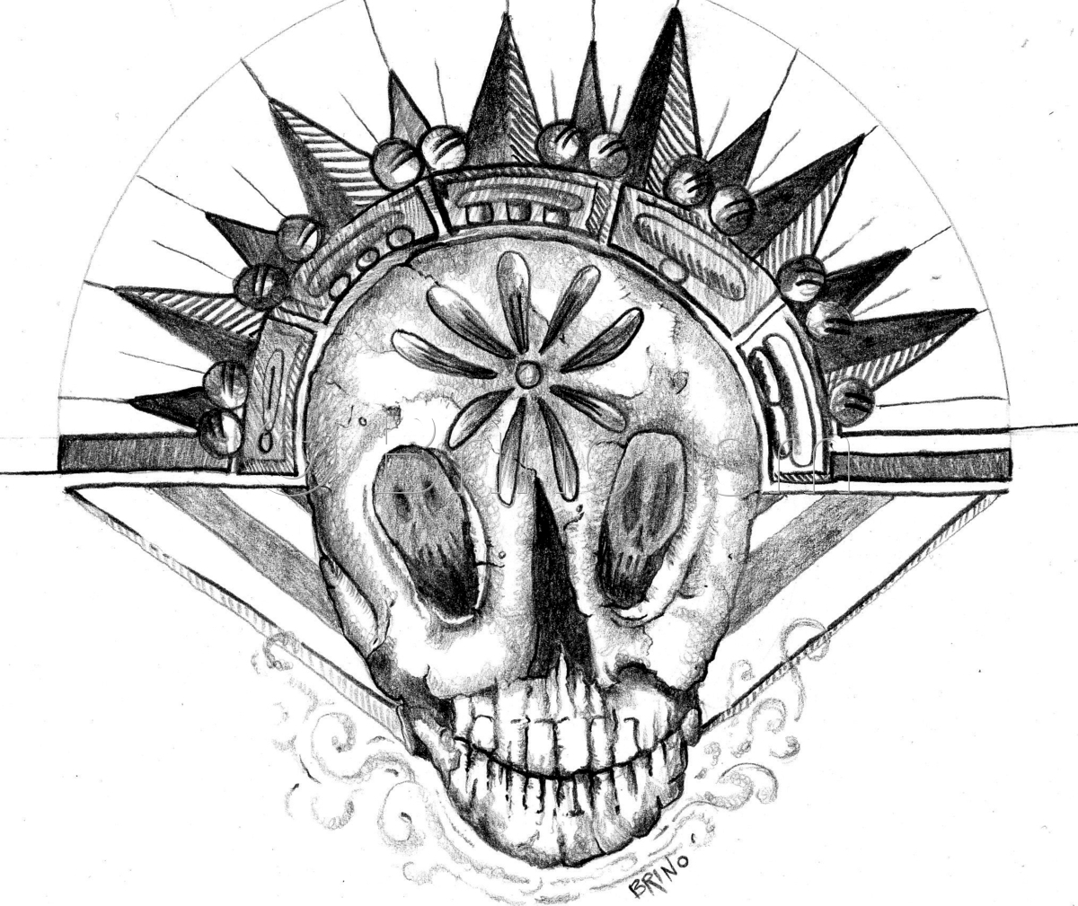 Lowrider Skull (large view)