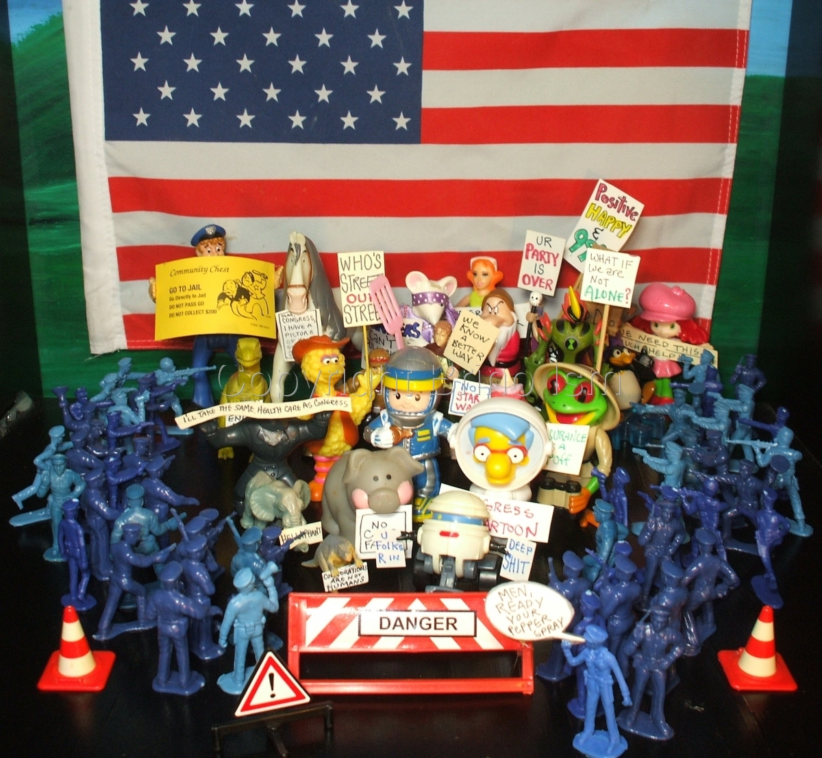 Occupy Toy Protest 2 (large view)