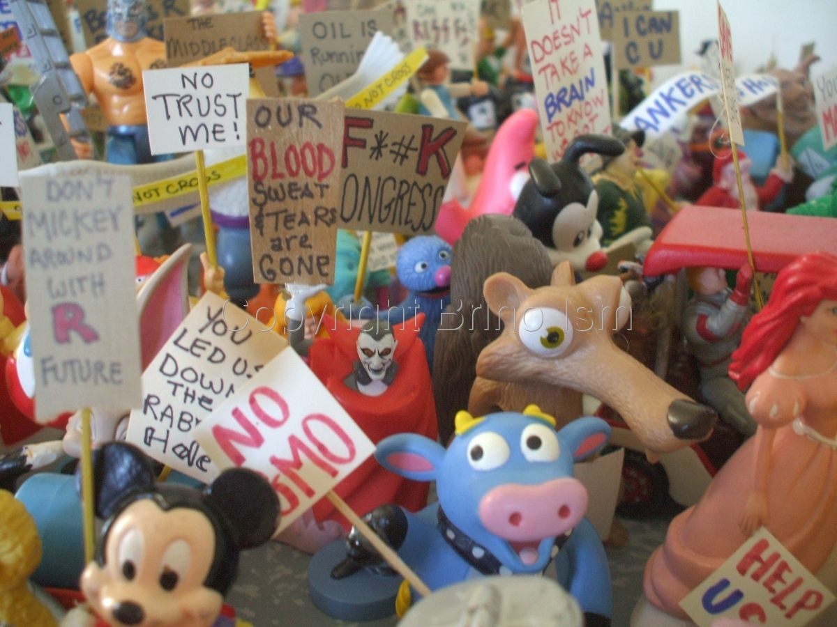 Occupy Toy Protest 4 (large view)