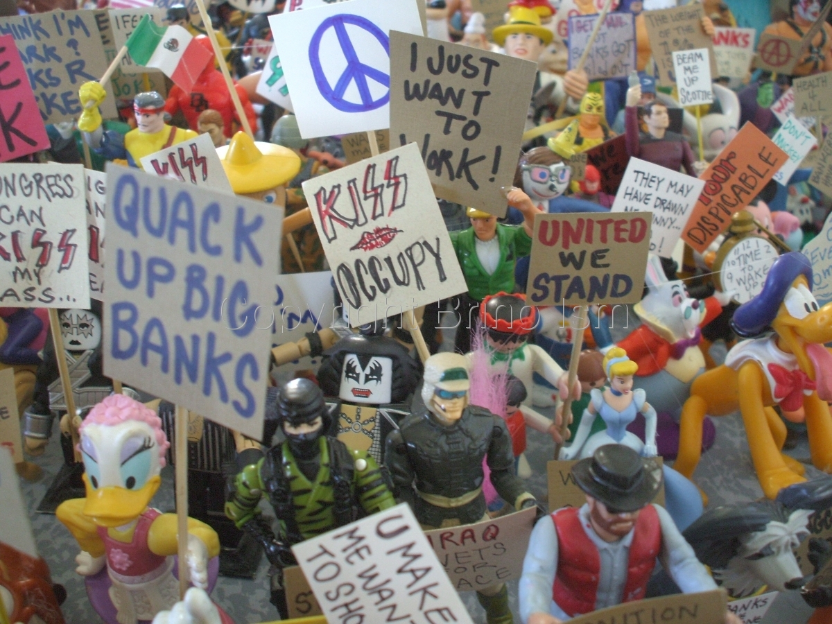 Occupy Toy Protest 5 (large view)
