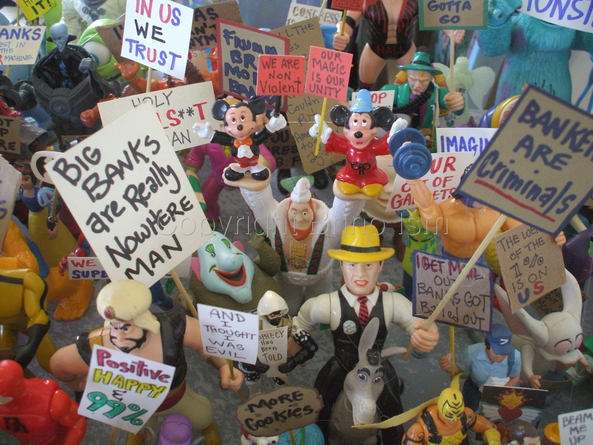 Occupy Toy Protest 6 (large view)