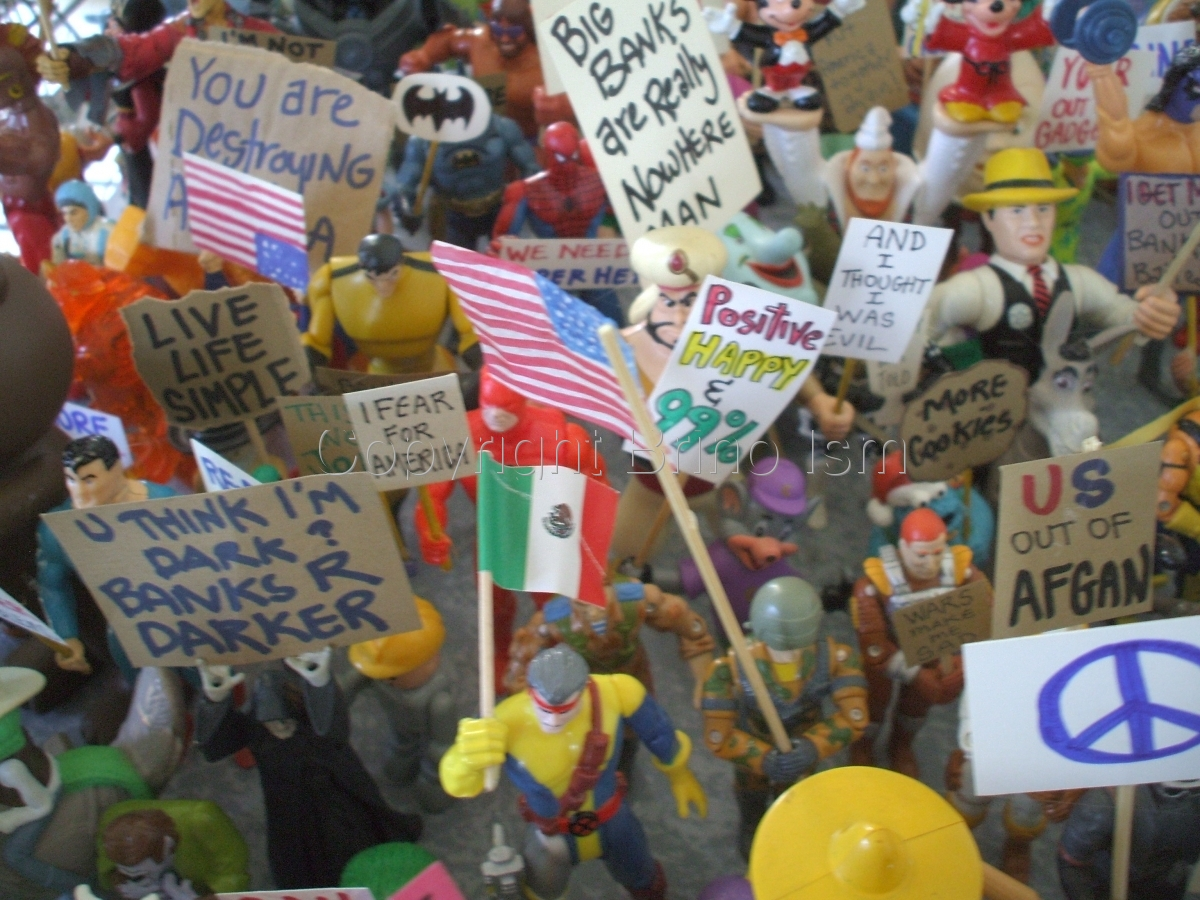 Occupy Toy Protest 7 (large view)