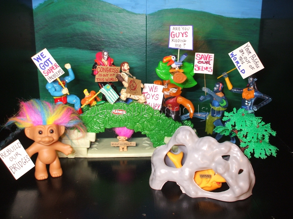 Occupy Toy Protest 10 (large view)