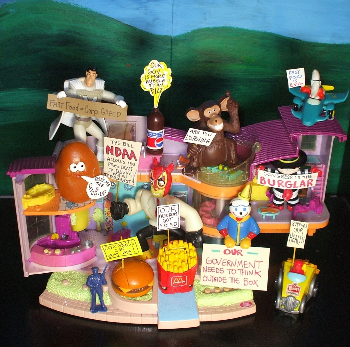 Occupy Toy Protest 18 (large view)