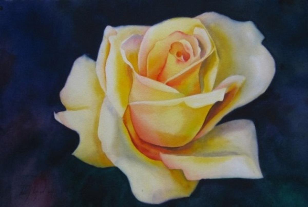 YELLOW ROSE (large view)