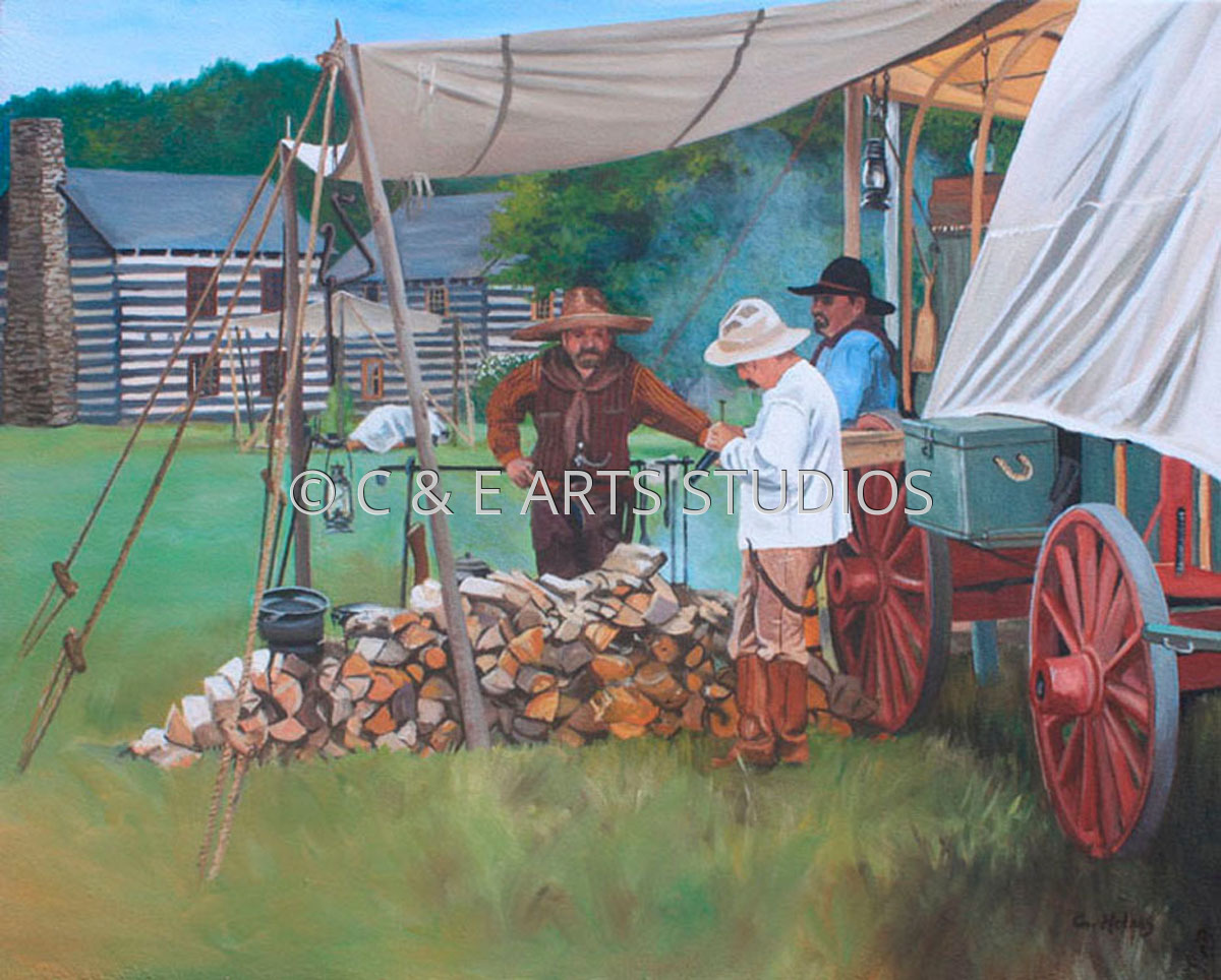 Chewing the Fat at the Chuckwagon (large view)