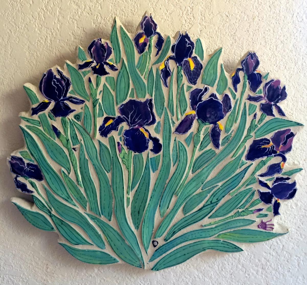 Spring Irises (large view)