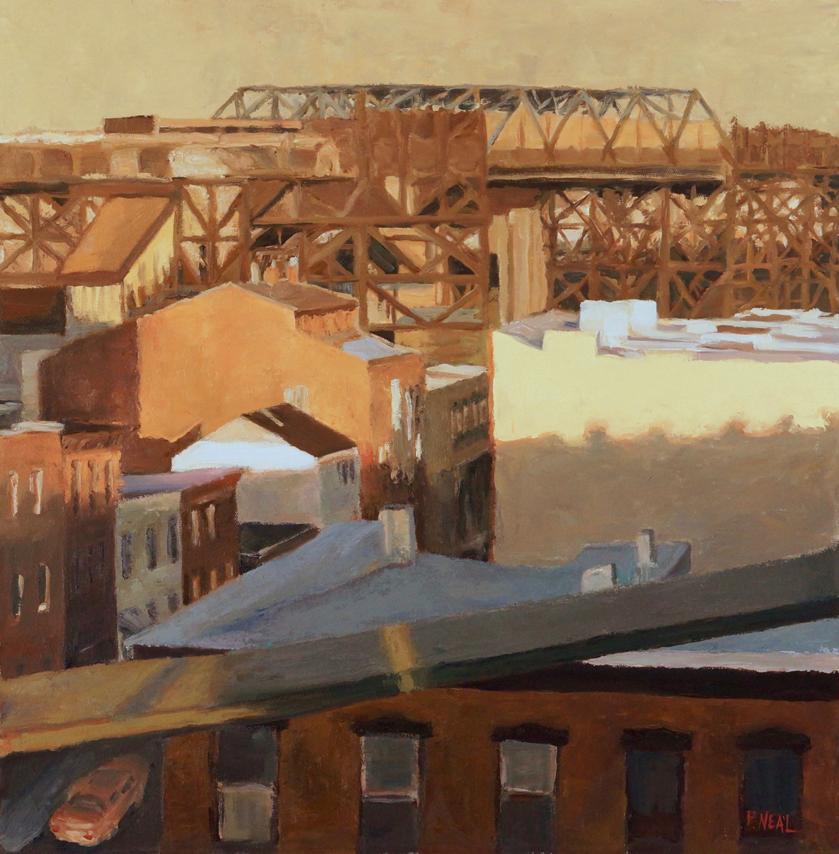 Trestle over Gowanus (large view)