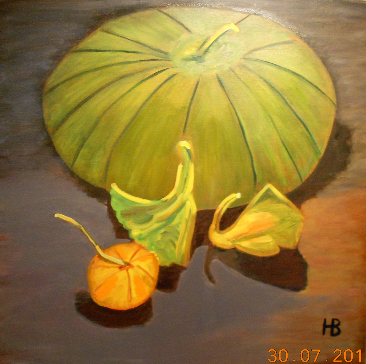 """""""Henry's Pumpkin"""" (large view)"""