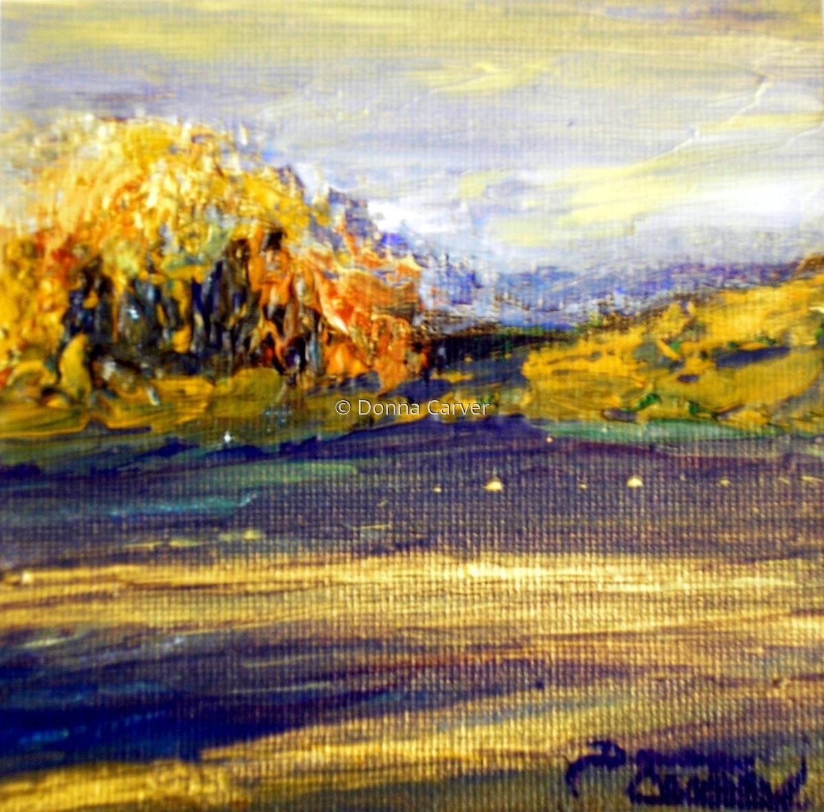 Winter at Watson Lake-SOLD (large view)