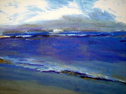 Ocean Lavender Blue SOLD (large view)
