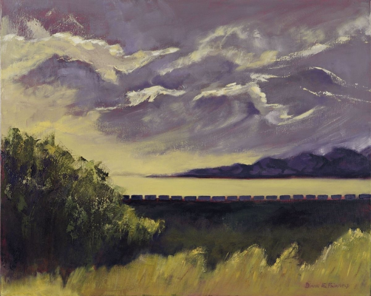 Arizona Dusk - The Dividing Line (large view)