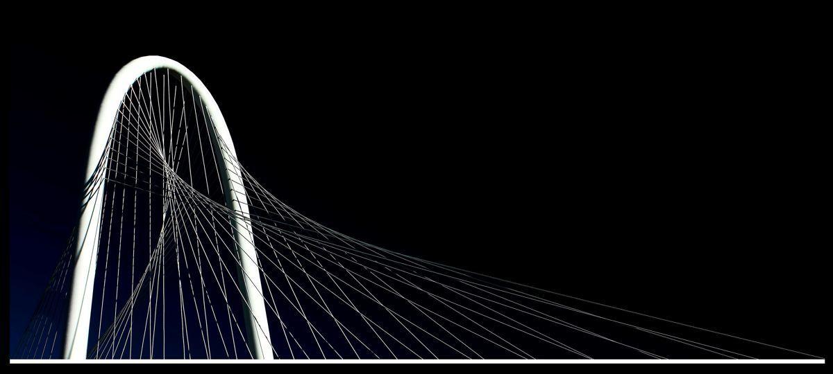 """Continental Bridge,"" Dallas, Texas (large view)"