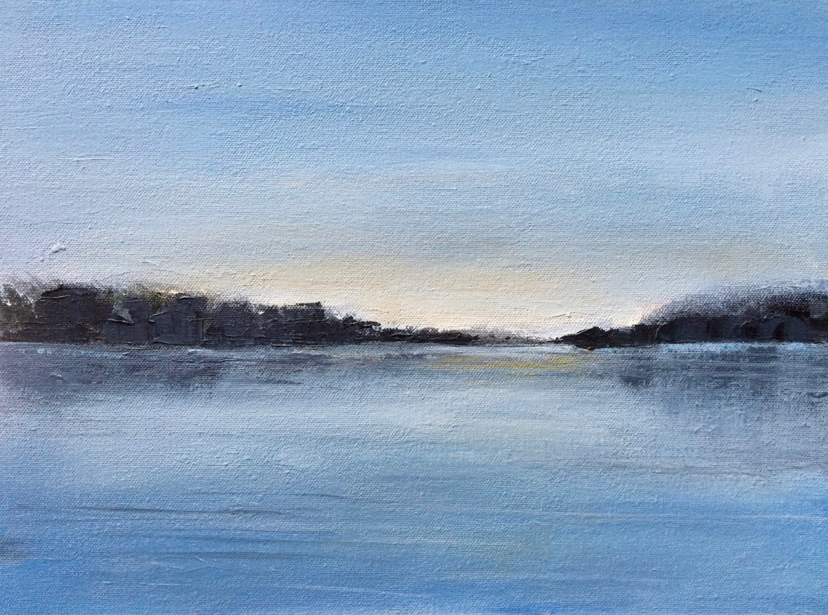 Lake at Dawn (large view)