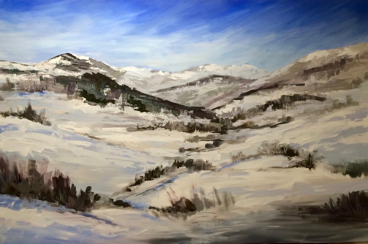Ski the Mountain (large view)