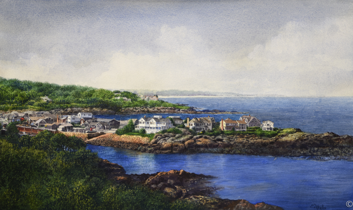 View of Perkins Cove (large view)
