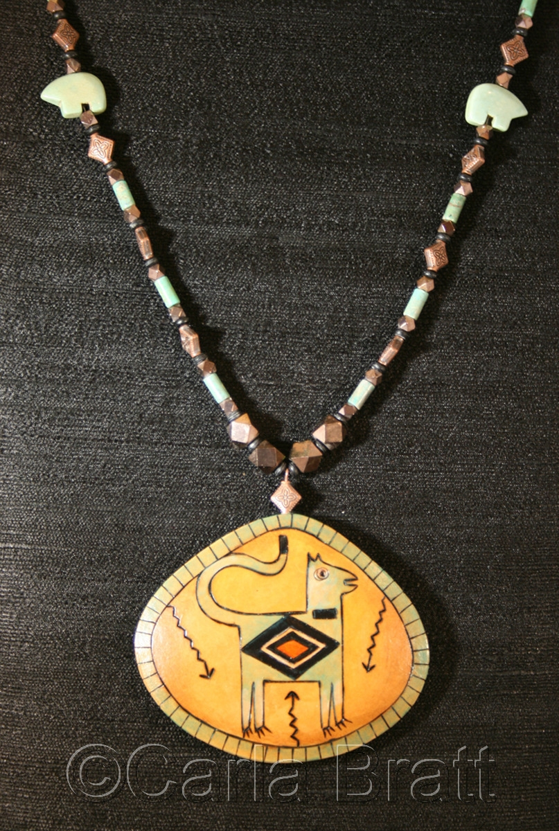 Cougar Totem Necklace (large view)