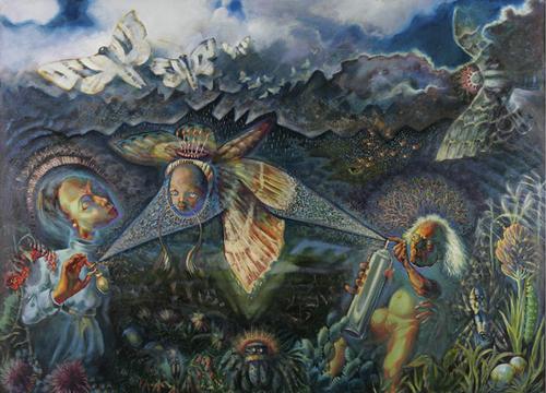 The Moth Hunters by Gerald Heffernon