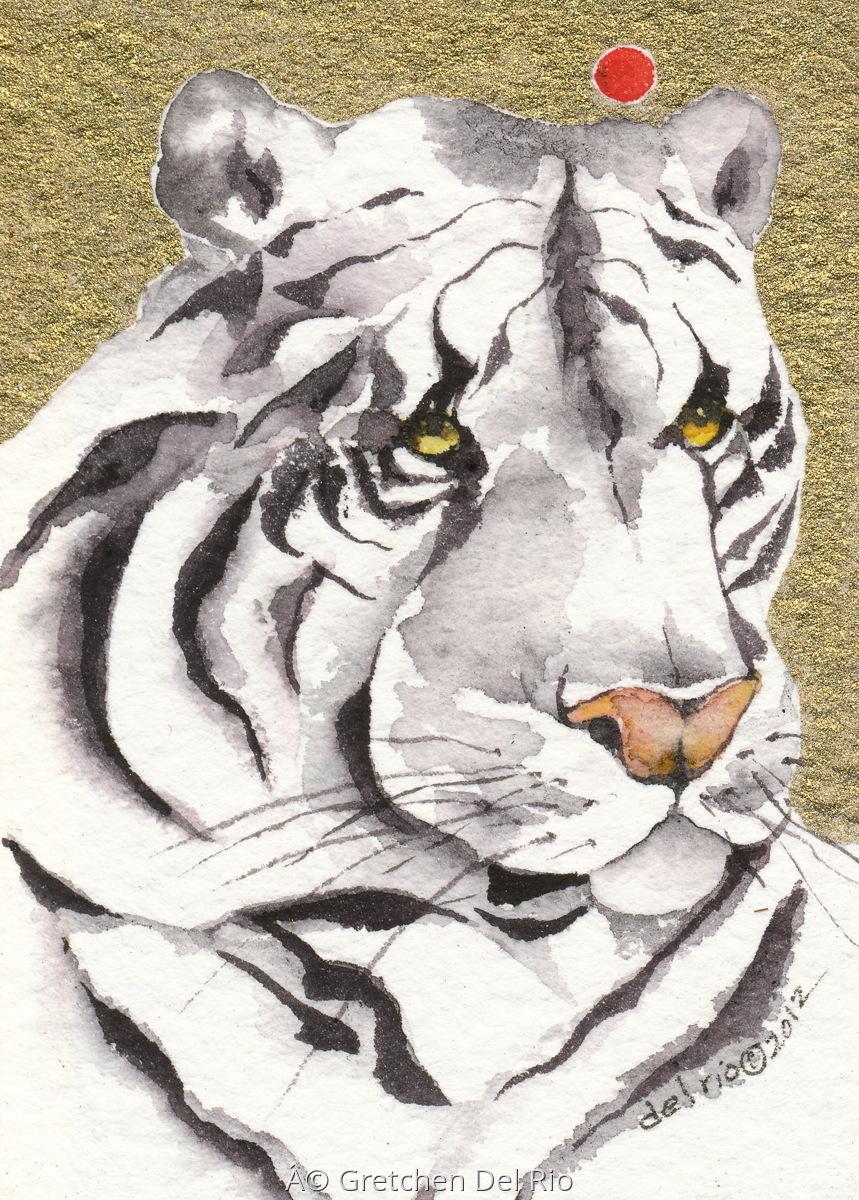 'Snow Tiger' Gretchen Del Rio (large view)
