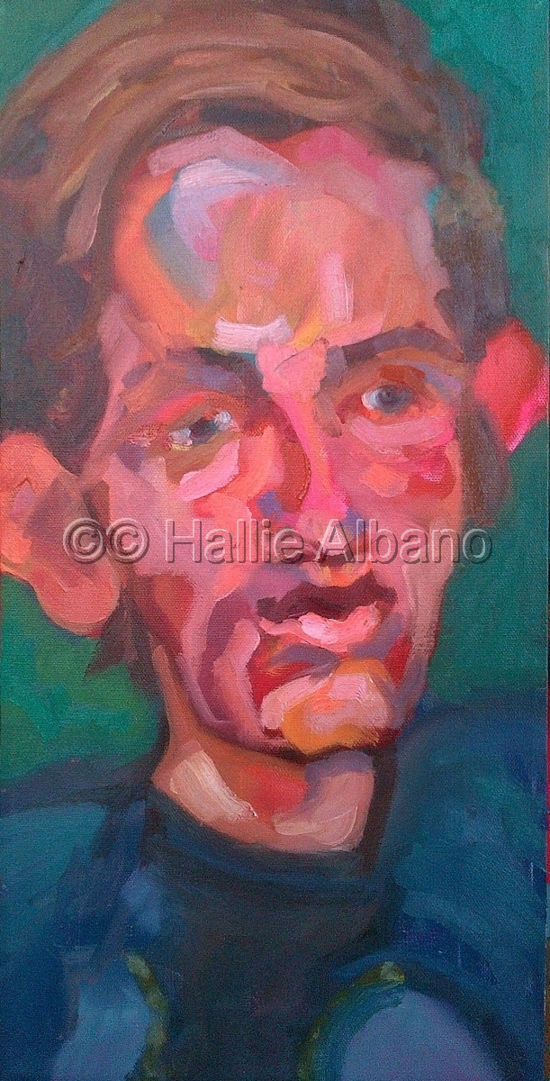oil painting,finished oil painting,finished portrait painting,portrait,colorful,distorted paintings (large view)