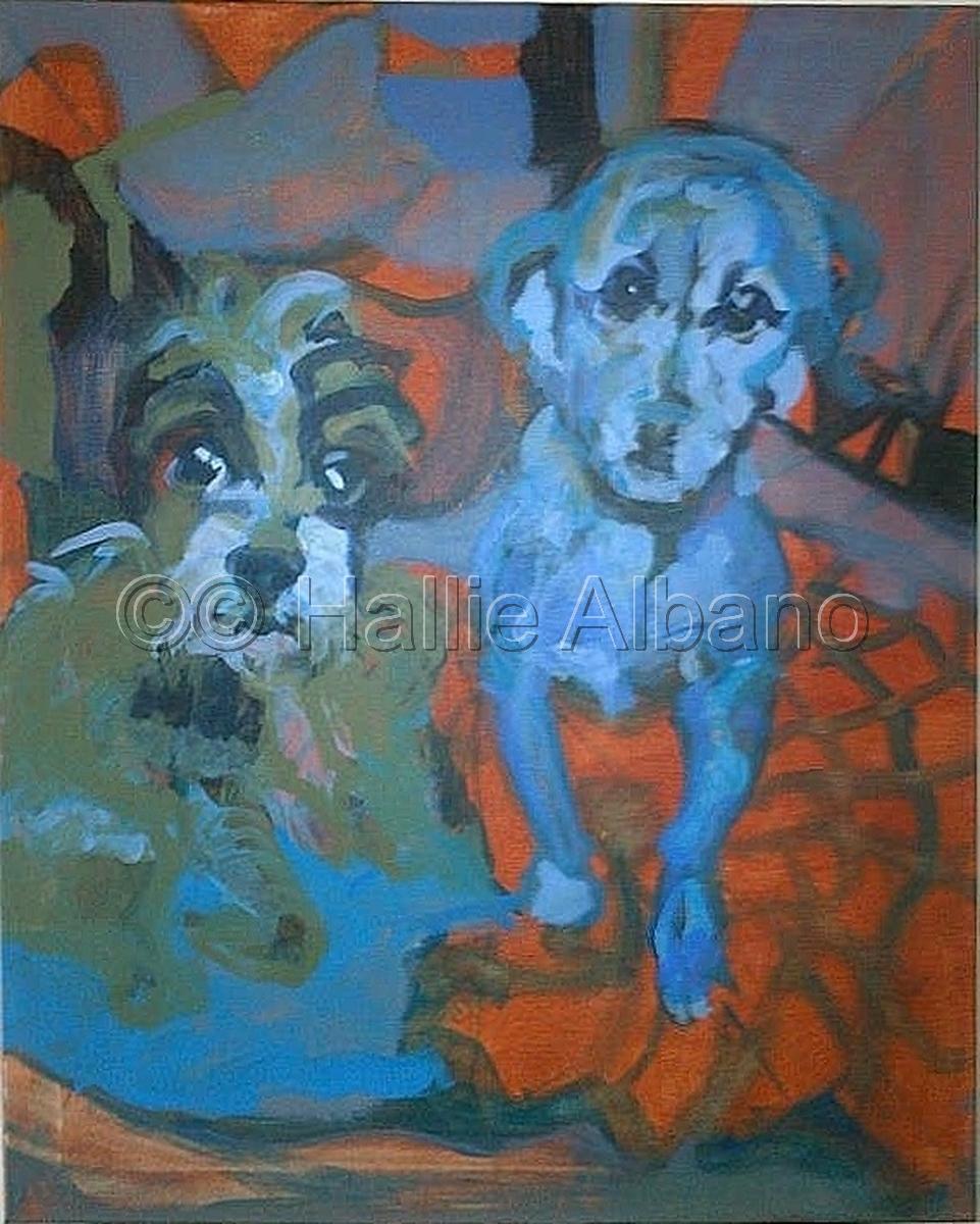 pafa,dog,dog portrait,dog portraits,philadelphia,dogs in phildelphia,animal portraits,dog painting from photo (large view)