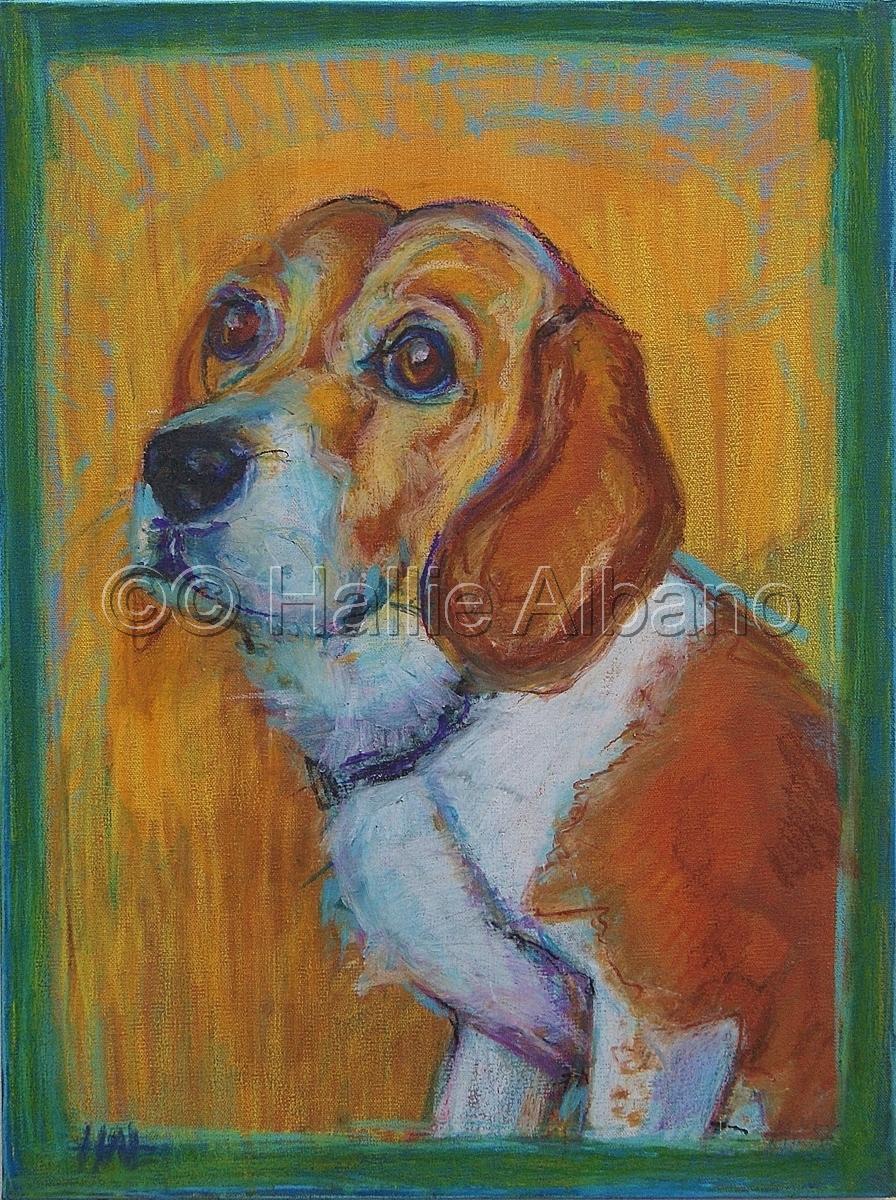 Jezebel the Beagle (large view)