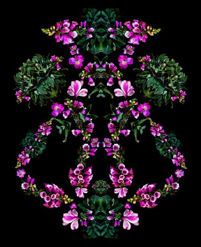 I am a Flower (Power Mask) Foxglove
