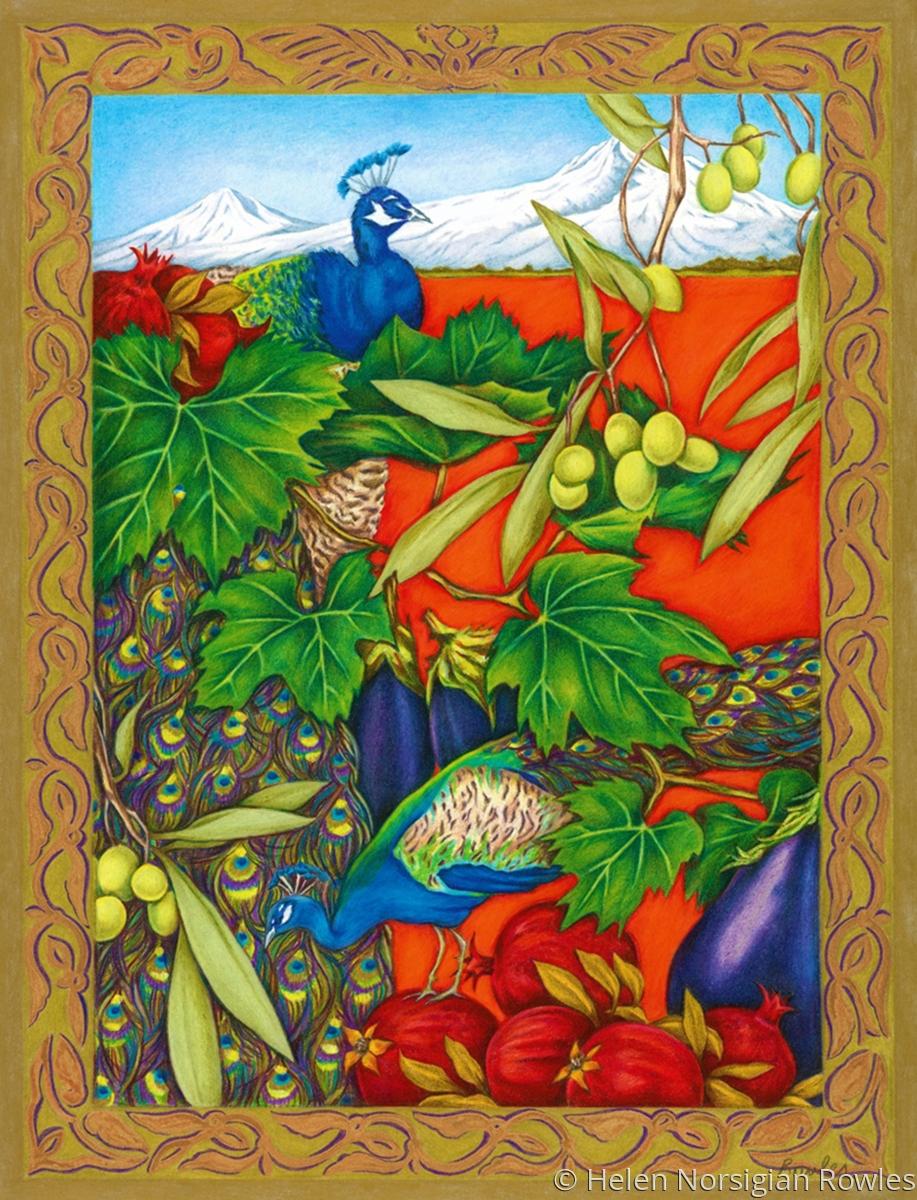 "Armenitas is based on the Baroque ""Vanitas"" themed work featuring my Armenian heritage. (large view)"