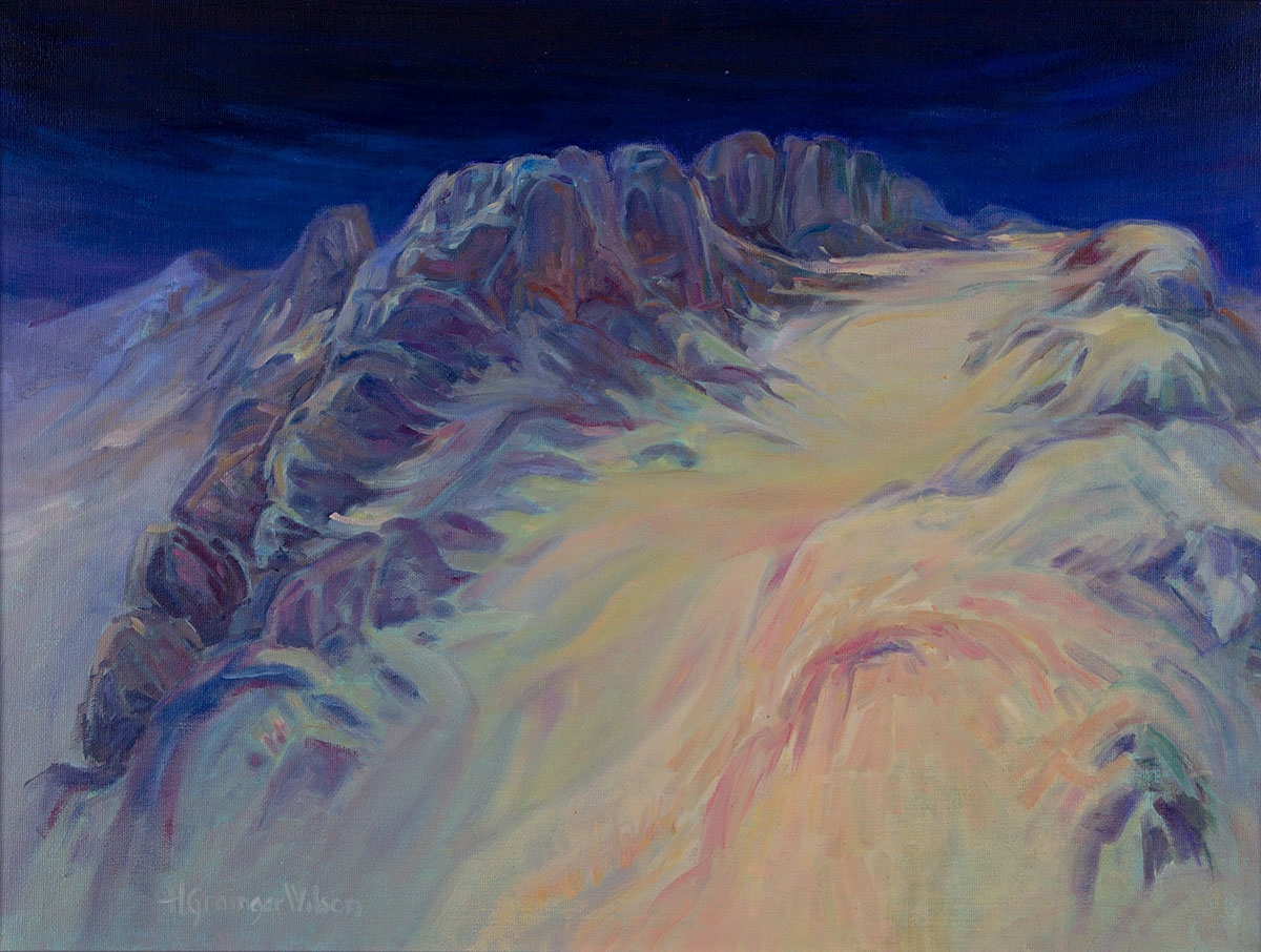 Outcrop, Sun Valley by Helen Grainger Wilson (large view)