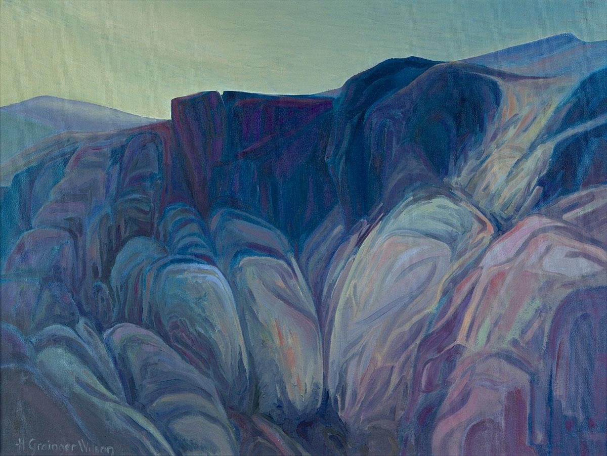 Rocky Hillside, Sun Valley by Helen Grainger Wilson (large view)