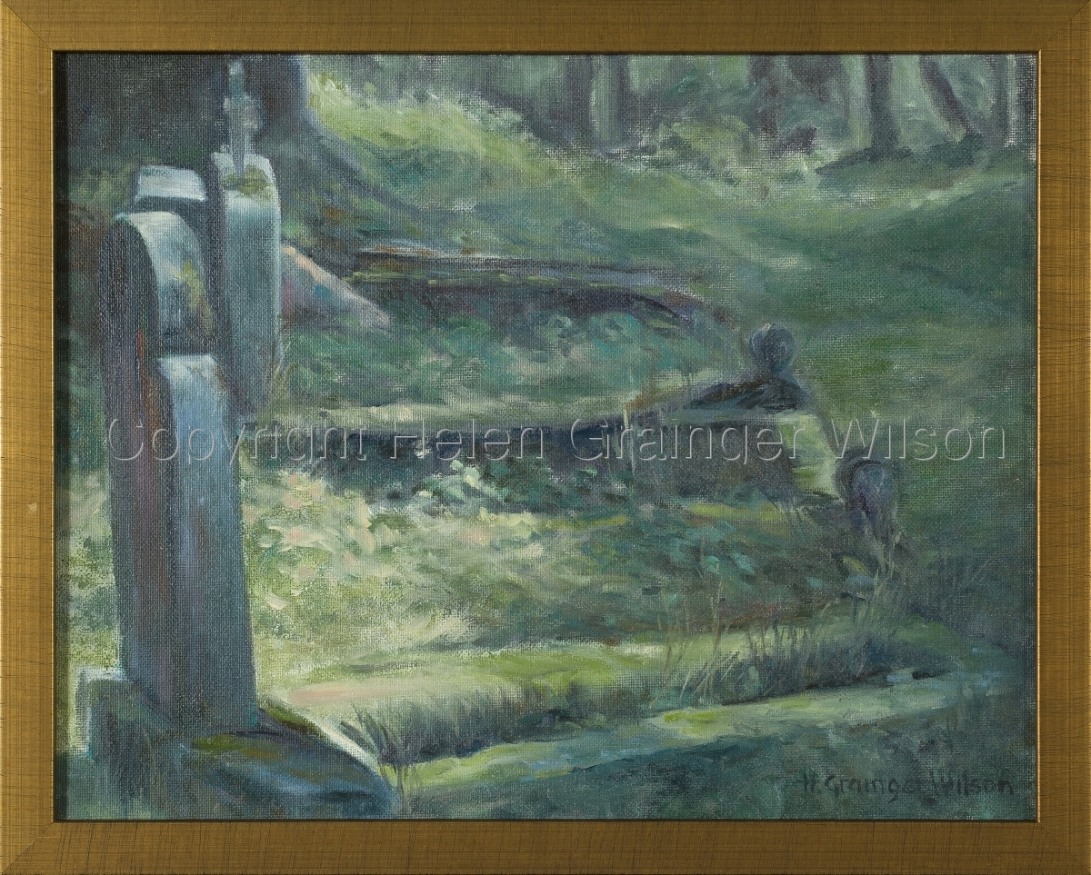 Russian Cemetery, Sitka IV by Helen Grainger Wilson (large view)