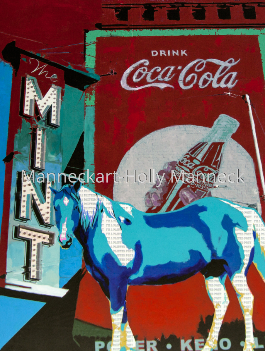 Mint, Cola and Painted Pony (large view)